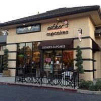 Photo taken at Esther's Cupcakes by Mirna P. on 11/16/2011