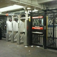 Photo taken at MTA Subway - Rockaway Ave (3) by The Official Khalis on 10/27/2011