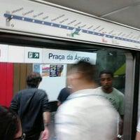 Foto tirada no(a) Estação Praça da Árvore (Metrô) por Renan R. em 1/12/2012