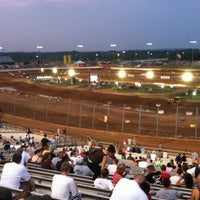 Photo taken at The Dirt Track at Charlotte Motor Speedway by Andrew W. on 7/24/2011