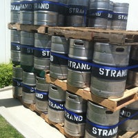 Photo taken at Strand Brewing by Tim D. on 4/14/2012