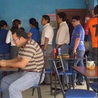 Photo taken at El Pez Azul Express by Andrés on 12/1/2011