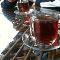 Photo taken at Teras Cafe (Beyaz Kale) by Yasemin S. on 5/5/2011