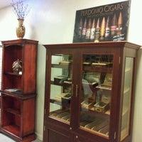 Photo taken at Shamrock Custom Luxury Cigar Lounge by Ralph B. on 2/17/2012