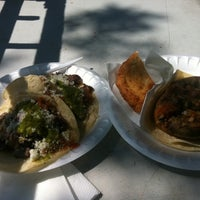Photo taken at Red Hook Ballfield Food Vendors by Andrea on 8/21/2011