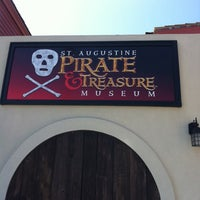 Photo taken at St. Augustine Pirate and Treasure Museum by Jason W. on 2/27/2011