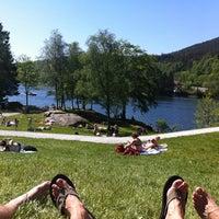 Photo taken at Gamlehaugen by Ainars G. on 5/27/2012