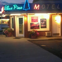 Photo taken at Blue Pine Motel by Peter V. on 9/16/2011