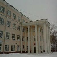 Photo taken at Школа №9 им. А. С. Пушкина by Anton L. on 1/5/2012