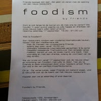 Photo taken at Foodism by Jaap d. on 9/17/2011
