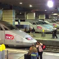 Photo taken at Paris Montparnasse Railway Station by Al K. on 5/18/2012
