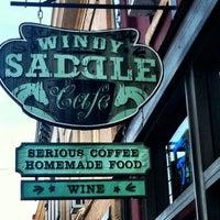 Photo taken at Windy Saddle Café by Rick A. on 12/24/2011