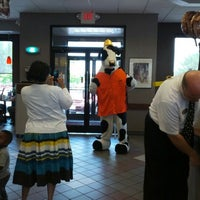Photo taken at Chick-fil-A Broad Creek Crossing by Sean A. on 6/6/2012