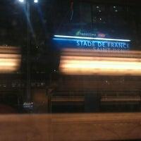 Photo taken at RER Stade de France Saint-Denis [D] by Christophe L. on 9/29/2011