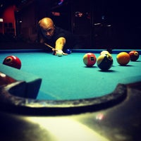 Photo taken at Shoreline Billiards by Brian T. on 5/31/2012