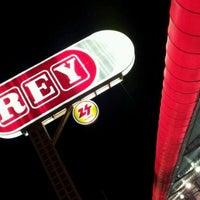 Photo taken at Supermercados Rey by Julio Javier on 1/3/2012