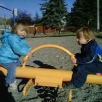 Photo taken at Glamorgan Park by Chris B. on 10/15/2011