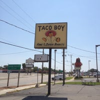 Photo taken at Taco Boy by Aaron J. on 8/1/2012