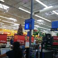 Photo taken at Walmart Supercenter by Alberto B. on 11/4/2011