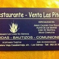 Photo taken at Venta Las Pitas by Adrian G. on 12/12/2011