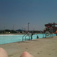 Photo taken at Nienhuis Aquatic Facility by Stephanie P. on 6/9/2012
