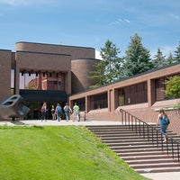 Photo taken at Folke Bernadotte Memorial Library by Gustavus Adolphus College on 2/25/2011