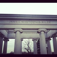 Photo taken at James Whitcomb Riley's Grave Site. by Blake R. on 12/3/2011