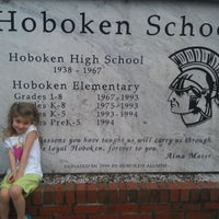 Photo taken at Hoboken Elementary School by Amy H. on 3/1/2012