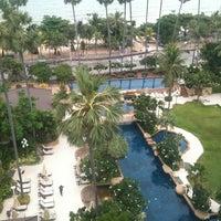 Photo taken at Jomtien Palm Beach Hotel&Resort by D i. on 7/18/2012