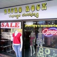 Photo taken at Retro Rock Vintage Clothing by Ryan W. on 4/29/2012