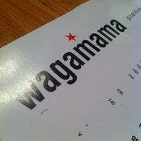 Photo taken at wagamama by Khaled A. on 1/25/2012