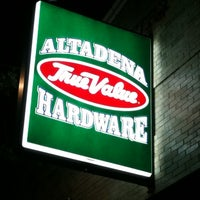 Photo taken at Altadena Hardware by Brian J. on 2/17/2011