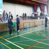 Photo taken at 仙台市立六郷中学校 by Fugeera T. on 12/11/2011