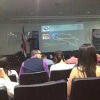 Photo taken at Universidad de Iberoamérica (UNIBE) by Isabella A. on 3/23/2012