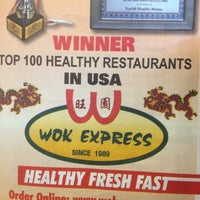 Photo taken at Wok Express by Micah T. on 4/15/2012