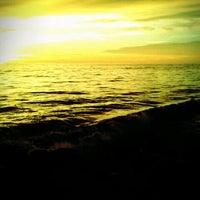Photo taken at Pantai Padang by Windy R. on 6/9/2012