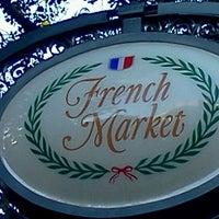Photo taken at French Market Restaurant by MissMarilyn D. on 4/16/2012