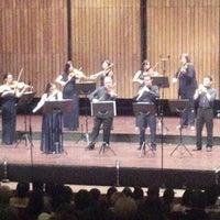Photo taken at Teatro Metropolitano by Luis G. on 9/10/2012