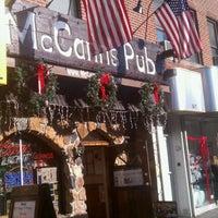 Photo taken at McCann's Pub by David M. on 12/11/2011
