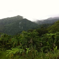 Photo taken at El Yunque National Forest by Ben B. on 12/16/2011