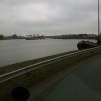 Photo taken at Dok van Evergem by Stefanie S. on 3/5/2012