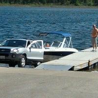 Photo taken at Peninsula State Park - Boat Landing by Jeff L. on 5/18/2012