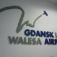 Photo taken at Gdańsk Lech Wałęsa Airport (GDN) by Kay v. on 6/13/2012