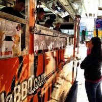 Photo taken at Korilla BBQ by Raffi A. on 1/19/2012