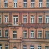 Photo taken at Hotel Praga 1 by Polina S. on 4/15/2012