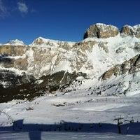 Photo taken at Pardatsch / Predazzo by Victoria V. on 1/10/2012