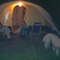 Photo taken at Camping Eiland by Lieke B. on 9/23/2011