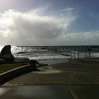 Photo taken at Busselton Jetty by Brian M. on 6/11/2012