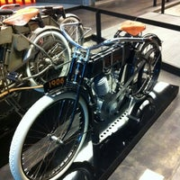 Photo taken at Harley-Davidson Museum by Bruce H. on 4/25/2012