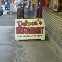 Photo taken at DeLuca's Diner by Mike S. on 1/18/2012